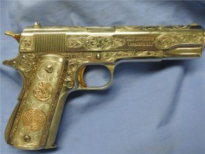 Gold custom 1911