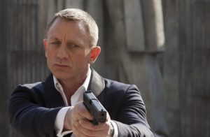 James Bond's iconic gun
